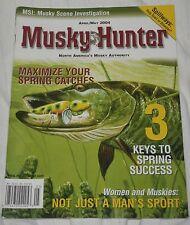 Musky Hunter Magazine April/May 2004 - Spillway Fishing & Missouri Musky