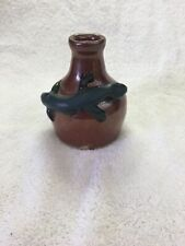 Face Jug Potter Ned Burry Small Lizard Jug 4 1/4 Inches Tall Mint Condition