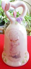 2005 Precious Moments Cream Pink Porcelain Grandma Bell Mib