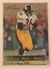 2000 Playoff Prestige Football Card #145 Jerome Bettis Pittsburgh Steelers