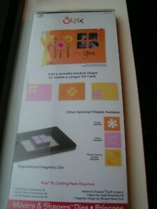 sizzix Bigz XL  654780 movers and shapers window card