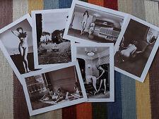 5 Helmut Newton Kunstdrucke Fotos - rar - wie neu, B/W