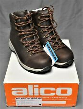 Italian Alico All Leather Backpacking Hiking Trekking Boots Shoes Men's US 9 M