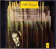 BACH & Max REGER Organ Orgelkonzert mit GÜNTHER RAMIN CD Toccata & Fuge Orgel