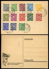 Cancelled to Order/CTO Used German & Colonies Stamps
