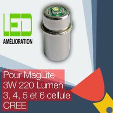 MagLite LED mise à niveau ampoule Torche 3D/3C 4D/4C 5D 6D cellulaire CREE CNC