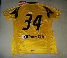 AEK Atene Maglietta Da Calcio Jesey Player Issue calciatori Puma xl 2007/08 NUOVO