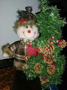 Snowman Light-Up Figurine Tabletop Christmas Holiday Decor * Brand New!