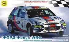 MODELIST 604312 FORD FOCUS WRC SCALE MODEL KIT 1/43 NEW