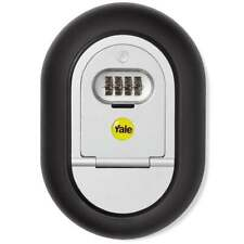 Yale Y500 Wall Mounted Outdoor Key Safe Secure Home Security Box Combination