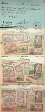 MEXICO 1950 VARIOUS EVENTS MNH COLLECTION LOT