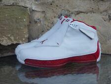 2003 Nike Air Jordan XVIII UK 7 US 8 18 OG White Red Deadstock BNIB 1 off white