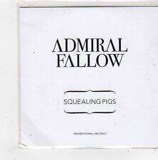 (FN231) Admiral Fallow, Squealing Pigs - 2010 DJ CD