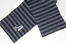 Kiezel-tje Capri Legging Gr.134/140 schwarz grau geringelt