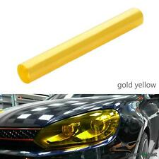 30 x 120cm Yellow Car Tint Film Fog Tail Light Headlight Tinting Van Wrap Sheet