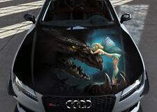 Dragon Fairy Kings Bounty Full Color Hood Sticker Vinyl Decal Wrap Fit Any Car
