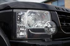 D4 look Headlight upgrade kit 6pc sticker+bulb 3156 Land Rover Discovery 3 LR3
