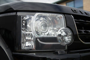 Headlight Bulb & Sticker Upgrade Kit for Land Rover Discovery 3 LR3 (6pc)