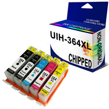 5 364XL INK CARTRIDGE 364 Unbrand Fits for hp PRINTER CHIPPED