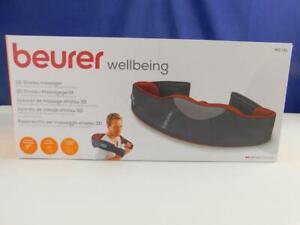 Beurer MG 151 Shiatsu Massagegerät Schultern Nacken Rücken Wärme 3D Massageköpfe