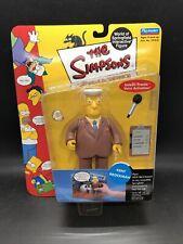 The Simpsons Playmates Kent Brockman World Of Springfield Series 5 NEW FIGURE