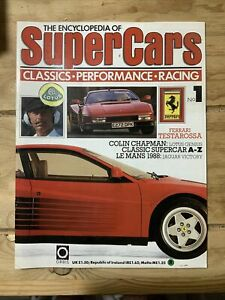 Complete set of Encyclopaedia of Supercars