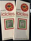 2 Vintage Christmas Tree Tinsel Icicles Sealed 1000 Per Bx By Bright Star