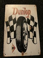 Dunlop, Retro metal Sign/Plaque Wall vintage / Garage Gift