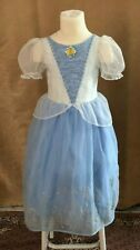 6 / 6X Cinderella Princess Costume Disney Store Deluxe dress Girls outfit small