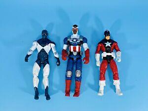 Marvel Universe Figures: Sam Wilson Captain America, Red Guardian, Vance Astro