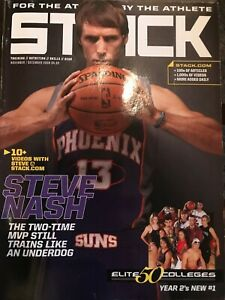 Stack Basketball Magazine STEVE NASH Training Two-Time MVP