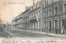 CHARLEVILLE RUE FOREST FRANCE GERMANY MILITARY WW1 FELDPOST POSTCARD 1915 (360)