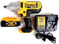 """New Dewalt DCF889 20V 1/2"""" Cordless Impact Wrench, (1) DCB205 Battery,  Charger"""