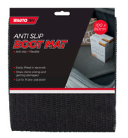 Anti Slip Non Slip Car Boot Mat Cut To Fit Liner Dirt Cover Flexible 100x80 cm