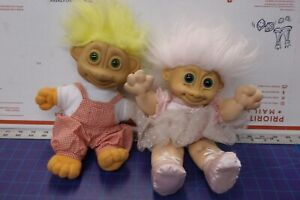 """1992 SOMA -10"""" TROLL DOLL V. GOOD CONDITION made in CHINA"""