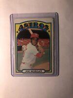 1972 Topps Joe Morgan Houston Astros #132 Baseball Card READ DESCRIPTION