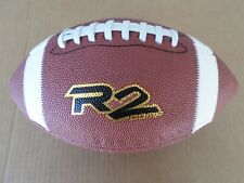 Rawlings R2 Comp Leather Football Official Size Nfhs Stamped