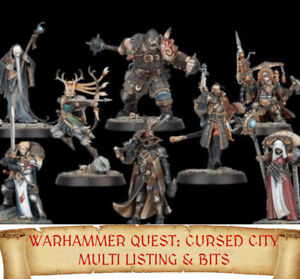 Warhammer Quest Cursed City MINIATURES & BITS Multi List fantasy sigmar BIT rare