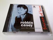 "ROBBIN CASEY AND THE COMISSION ""FACES OF LOVE"" CD 11 TRACKS COMO NUEVO"