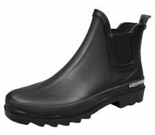 Giesswein Zeching Gummistiefel Stiefeletten Chelsea Boots Gr 37-42 schwarz NEU