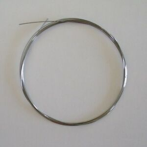 """Surplus Piano Music Wire - 10 feet - Size 11 - 0.026"""" - Replace broken strings"""