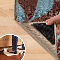 Mat Grips Non-Slip Rug Gripper Carpet Reusable Tape All Floor Types Anti Skid UK