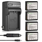 LP-E10 Battery + Charger For Canon Rebel T3 T5 T6 Kiss X50 EOS 1100D 1200D