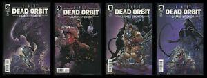 Aliens Dead Orbit Comic Set 1-2-3-4 Lot Xenomorph Chestburster James Stokoe art