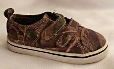 Realtree Hunting Camo Baby Toddler size 5 Baby Boy Printed Canvas Shoes Sneakers