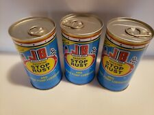 3 PK PER ORDER JB JUSTICS BROS RADIATOR STOP RUST AND WATER PUMP LUBE 11OZ CAN