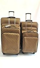 "4 piece Luggage set of  4 Wheels Expandable Suitcase set  20"" 24"" 28"" & 32"""