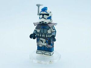 LEGO SW Clone Wars AP2 ARC TROOPER FIVES - CUSTOM DECALED LEGO MINIFIGURE