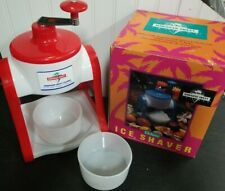 Hawaiian Sweet Island Deluxe Ice Shaver Kit With Two Cups