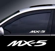 Mazda MX-5 Logo Window Decal Sticker Graphic *Colour Choice*
